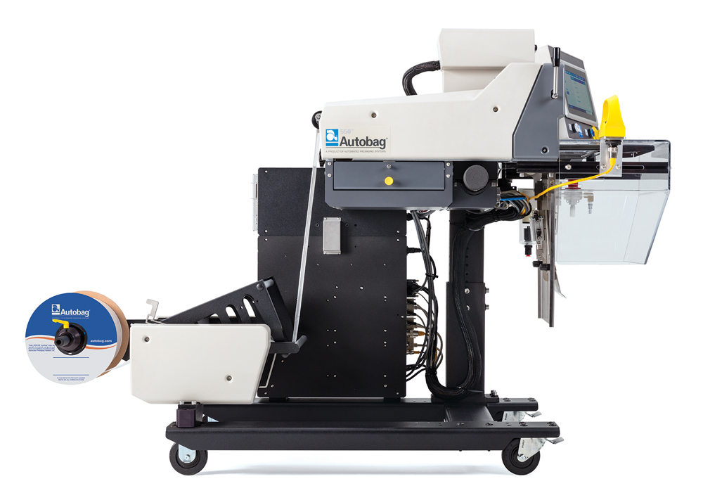 Autobag® 550™ Bagging System right side loaded with bag