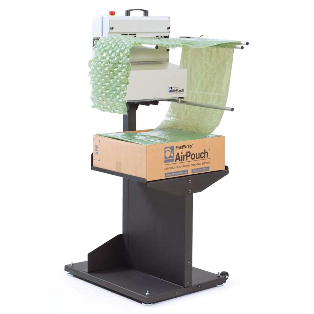 AirPouch FastWrap on stand
