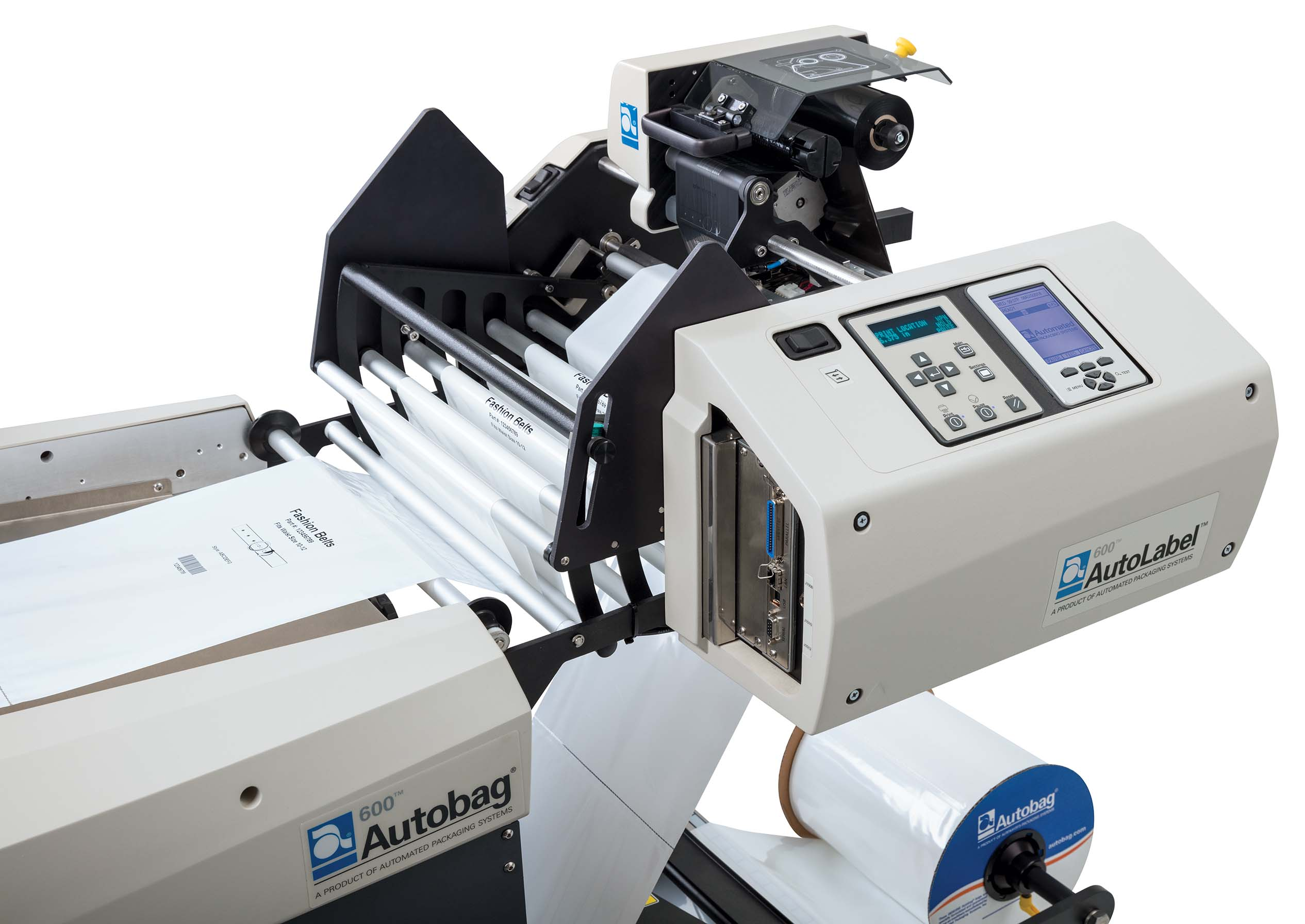 AutoLabel 600 Wide Thermal Transfer Printer Close-up