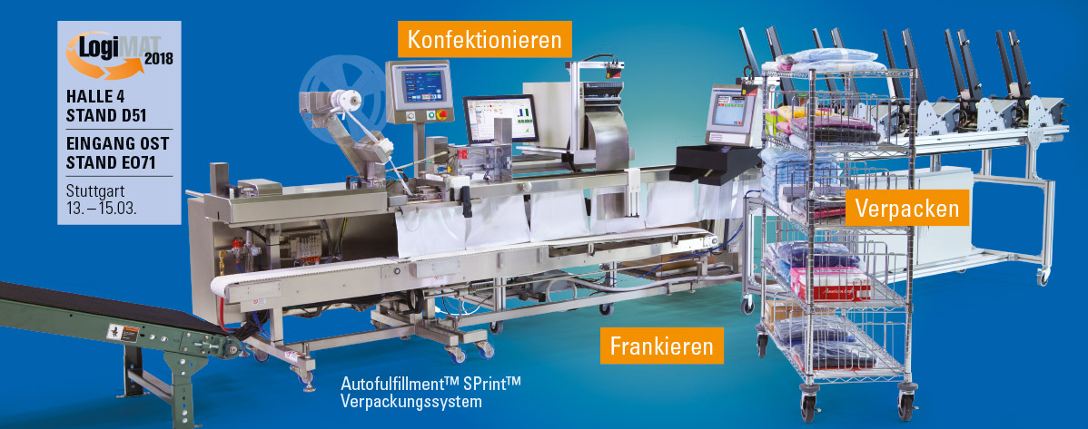Automated Packaging Systems Logimat 2018 Teaser